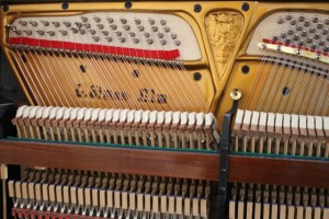 Restaurietes Klavier
